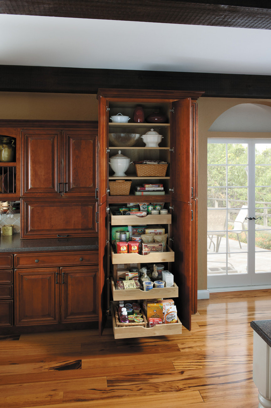 Custom Kitchen Pantry Cabinets